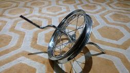 NEW Schwinn Roadster Tricycle Part: FRONT WHEEL and AXLE