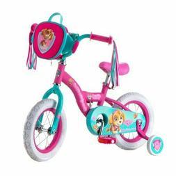 Nickelodeon Paw Patrol Skye kids bike 12-inch wheel training