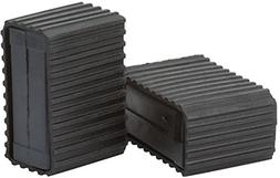 XLC Pedal Blocks; 1 Pair; Black