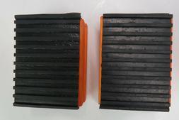 Summit Pedal Blocks Rubber /& Wood
