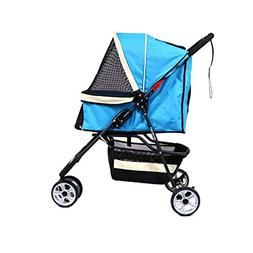 LOVEPET Pet Stroller Dog Portable Cart Cat Tricycle Cat and