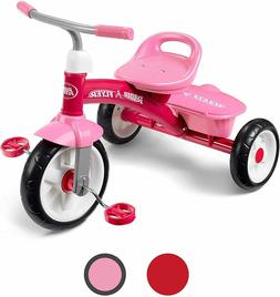 Radio Flyer Pink Rider Outdoor Toddler Tricycle Ages 2.5 to