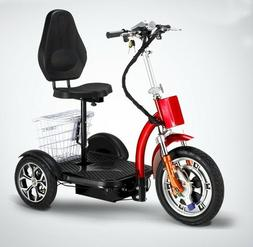 Powered electric mobility scooter, electric tricycle, scoote