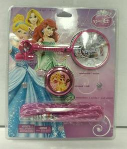 Disney Princess Bike Accessory Pack Age 4+ Mirror Bell and C