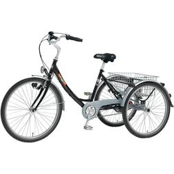 "PFIFF Proven Adult Tricycle, 26"" Wheels Nexus 3-Speed Drive,"