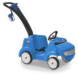 Little Tikes Quiet Drive Buggy Ride On, Blue