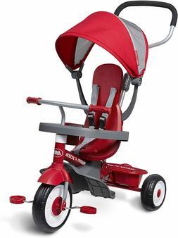 Radio Flyer 4-in-1 Stroll 'N Trike Infant Toddler Stroller T