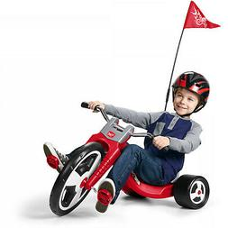 Flyer Trike Big Radio Sport Red Kids Tricycle Chopper Wheel
