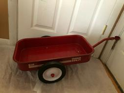 RARE VINTAGE RADIO FLYER TRYKE TRICYCLE TRAILER MODEL 412 RE