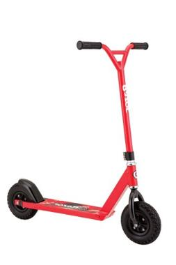 Razor Pro RDS Dirt Scooter, Red