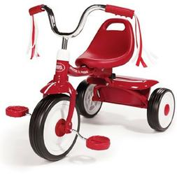 Ready to Ride Folding Trike Kids Red Tricycle Toddler Child
