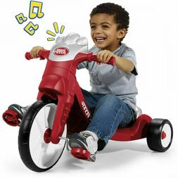 Red Radio Flyer 402 Radio With Lights and Sounds Tricycle Ki