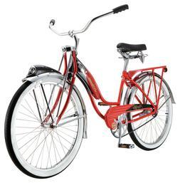 Schwinn Red Phantom Cruiser Bike, single speed, 26-inch whee