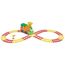Remote controlled 2 in 1 Choo loco Ride on Train with Tracks