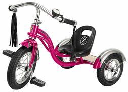 "Retro Tricycle Schwinn Roadster 12"" Hot Pink Kids Trike Vint"