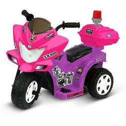 Ride On Tricycle 6Volt Battery Powered Kid Motor Purple/Pink