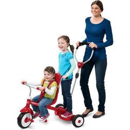 Radio Flyer Ride & Stand Stroll 'N Trike - Kids Toy - Childr