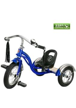 "Schwinn Roadster Trike Blue Toddler 12"" Sturdy Safe Ride Tri"