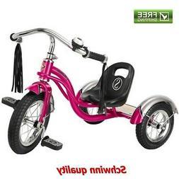 Schwinn Roadster Trike Pink Lifetime Warranty Retro Style Tr