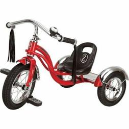 """Schwinn Roadster Trike Red Toddler 12"""" Retro Style Tricycle"""
