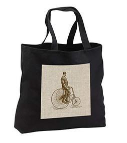 Russ Billington Designs - Steampunk Vintage Man Riding Tricy