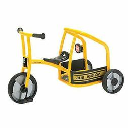 Winther School Bus Tricycle for Two, Trike with Passenger Se