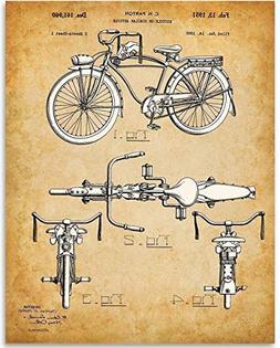 Schwinn Bicycle - 11x14 Unframed Patent Print - Great Gift f