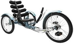 "Mobo Shift 20"" 3 WHEEL Trike Tricycle RECUMBENT Cruiser Bike"