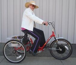 Shopper Adult Pedal Trike w/ 36V Electric Hub Motor