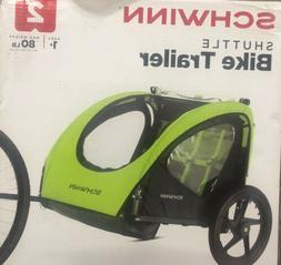 Schwinn Shuttle Foldable Bike Bicycle Trailer Kids 2 Seater