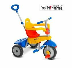 smarTrike Breeze Baby Tricycle/Trike, Yellow/Red/Blue, Multi