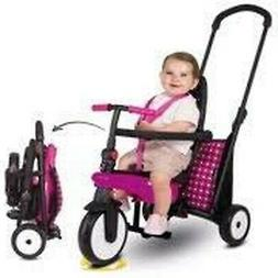 "Smart Tfold 300"" Smart Trike Baby Tricycle Bike Pink New"