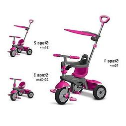 Smart Trike Carnival 3-in-1 Trike - Pink by Mookie