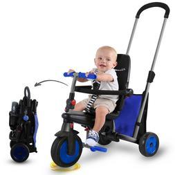 smarTrike smarTfold 300 - 5-in-1 Folding Baby Tricycle Smart
