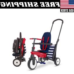 SmarTrike SmarTfold 300, 5-in-1 Folding Baby Tricycle, 10M+