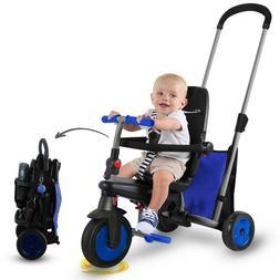 smarTrike smarTfold 300 - 5 in 1 Folding Baby Tricycle Smart