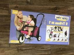 SmarTrike SmarTfold 300 5 In 1 Folding Tricycle Ride On Baby