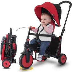 smarTrike smarTfold 300+ Baby Toddlers New Folding Tricycle