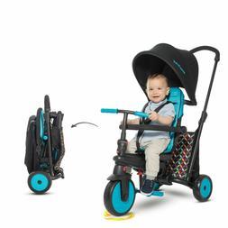 SmarTrike SmartFold 300 Comfort 6 in 1 Folding Trike Blue/Bl