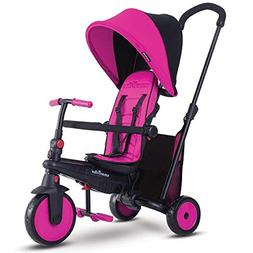 smarTrike smarTfold 300 Folding Baby Tricycle, Pink
