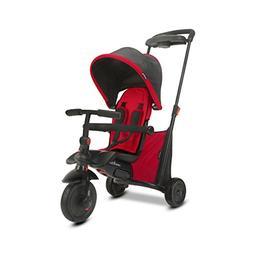 smarTrike smarTfold 500 Folding Baby Tricycle, Red