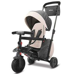 smarTrike Smartfold Folding Baby Tricycle, Gray