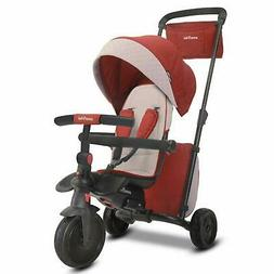 smarTrike Smartfold 600 Folding Baby Tricycle Red