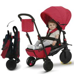 smarTrike smarTfold 700 Folding 8 in 1 Tricycle Baby Smart T