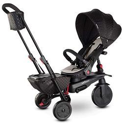smarTrike smarTfold 700 Folding Baby Tricycle, Black