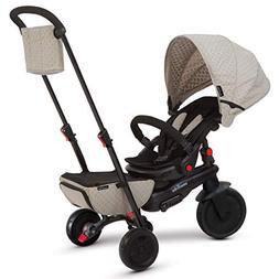 smarTrike Smartfold 700 Folding Baby Tricycle, Beige