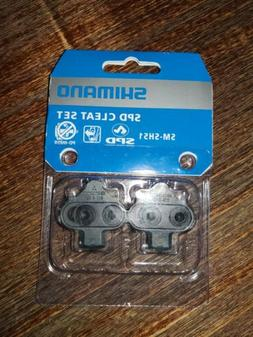 Shimano SPD SM-SH51 Single-Directional Release Cleats w/o Cl