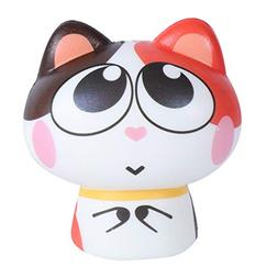 VESNIBA LLC 1PCS Squeeze Exquisite Lovely Cat Scented Slow R