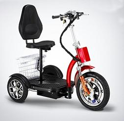 Stand and Sit Electric Folding Mobility Scooter