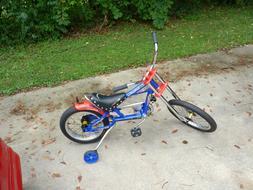 Schwinn Stingray Chopper Chrome/Red OCC-Boys Kids Bike Bicyc